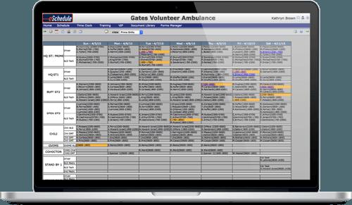 Crew Scheduling - Laptop