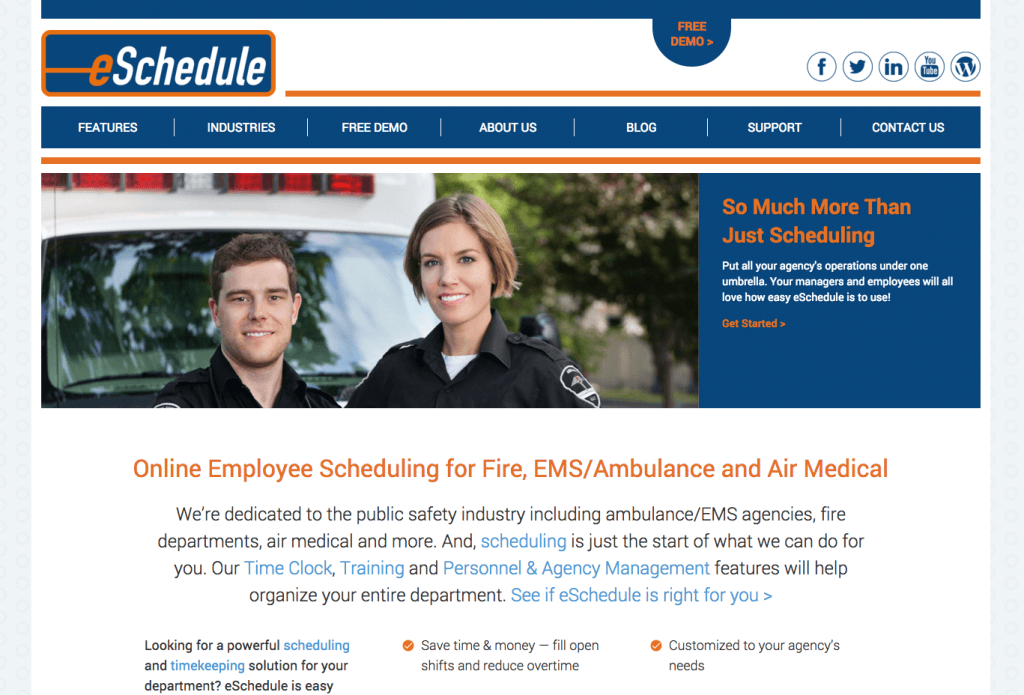 New Website: eSchedule