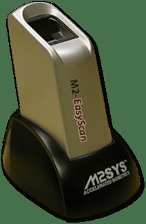 M2SYS EasyScan Biometric Finger Scanner