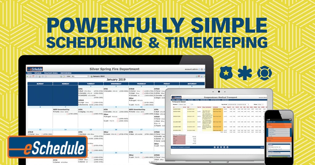 EMS Scheduling Software